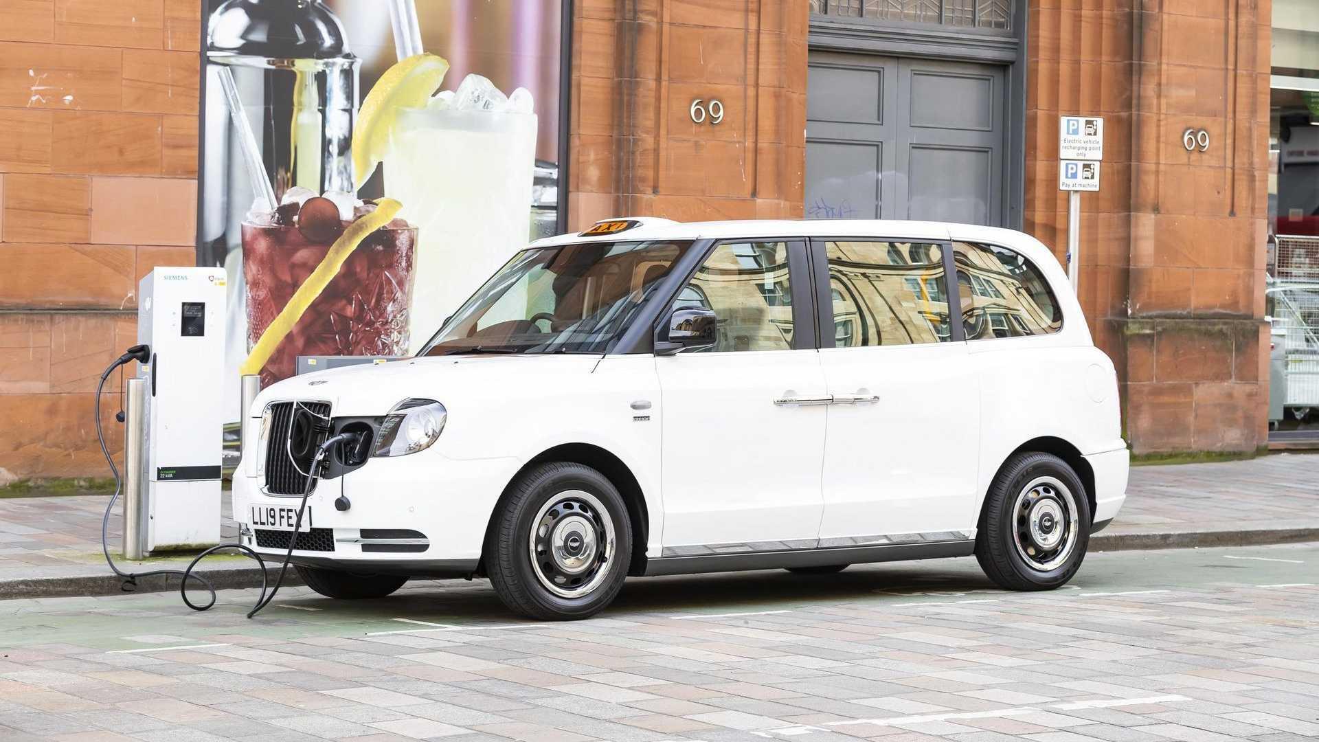 LEVC TX Black Cabs Turn Red For Azerbaijan