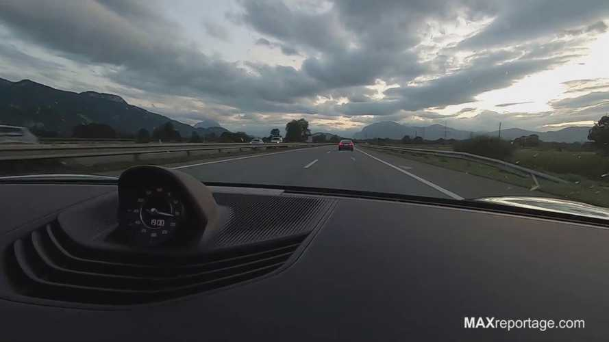 The Porsche Taycan And Tesla Model S Rivalry Go To An Autobahn