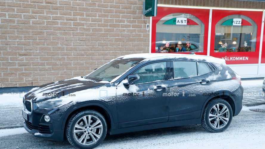 Un étrange prototype de BMW X2 électrique se fait surprendre