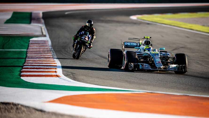 """Rossi: """"Sulla Mercedes mi sono sentito un vero pilota di F1"""""""