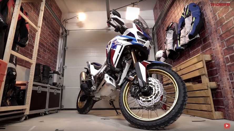 Here's A First Look And Listen To The New 2020 Honda Africa Twin