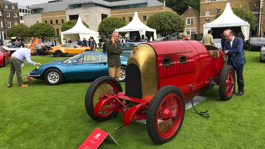 1911 Beast of Turin beats supercars at London Concours
