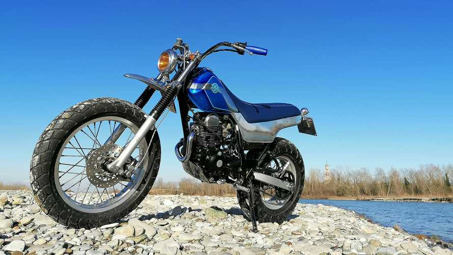Two Wheeled Beach Basher: Custom Yamaha TW125