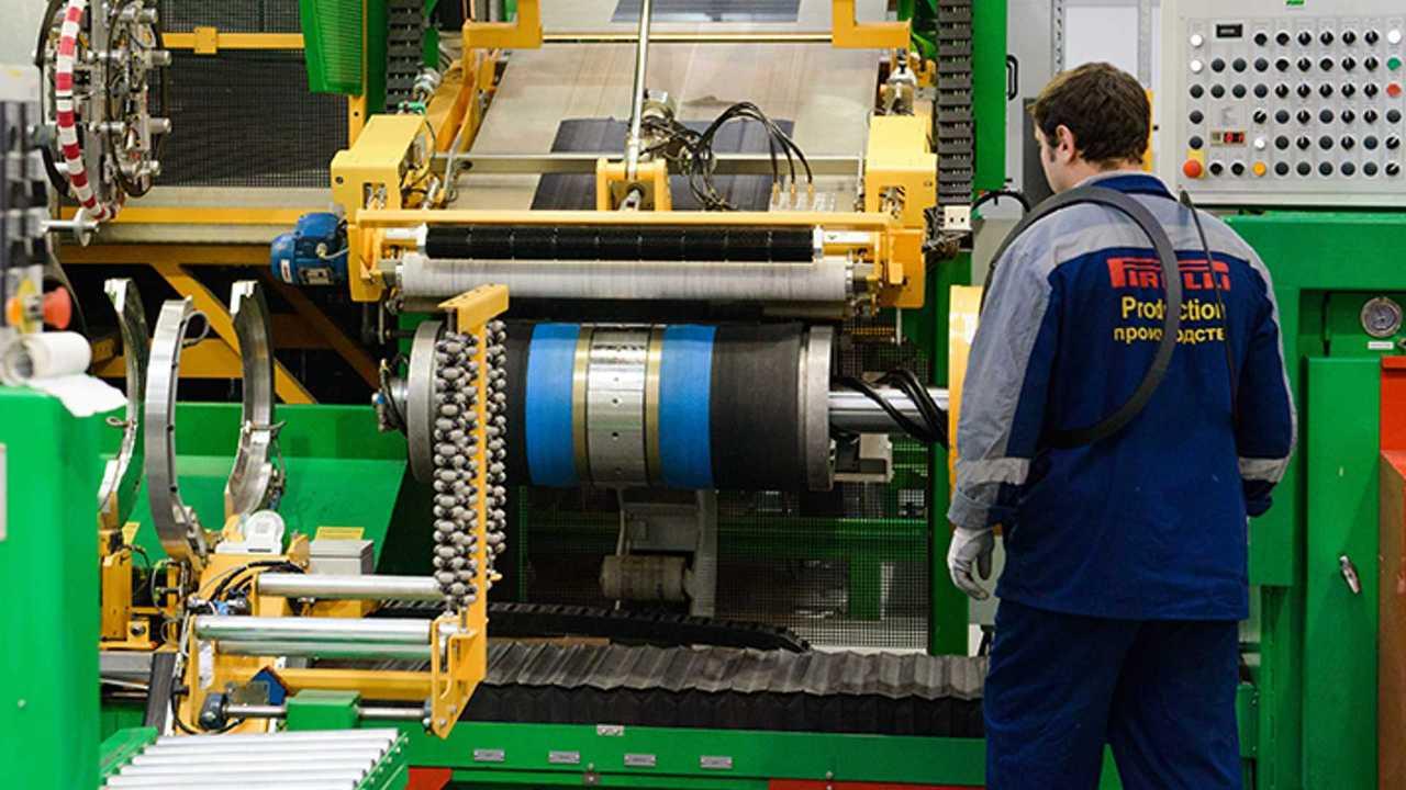 российское производство pirelli