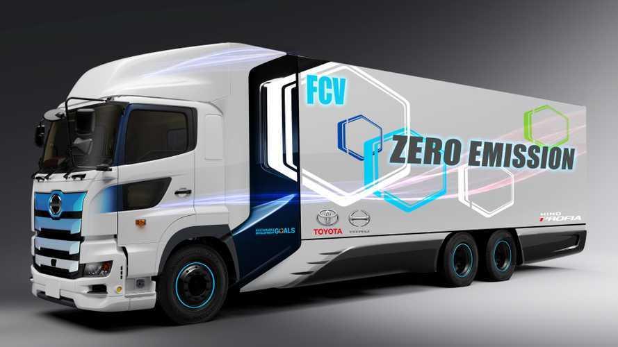 Toyota vuole lanciare un camion a idrogeno con 600 km di autonomia