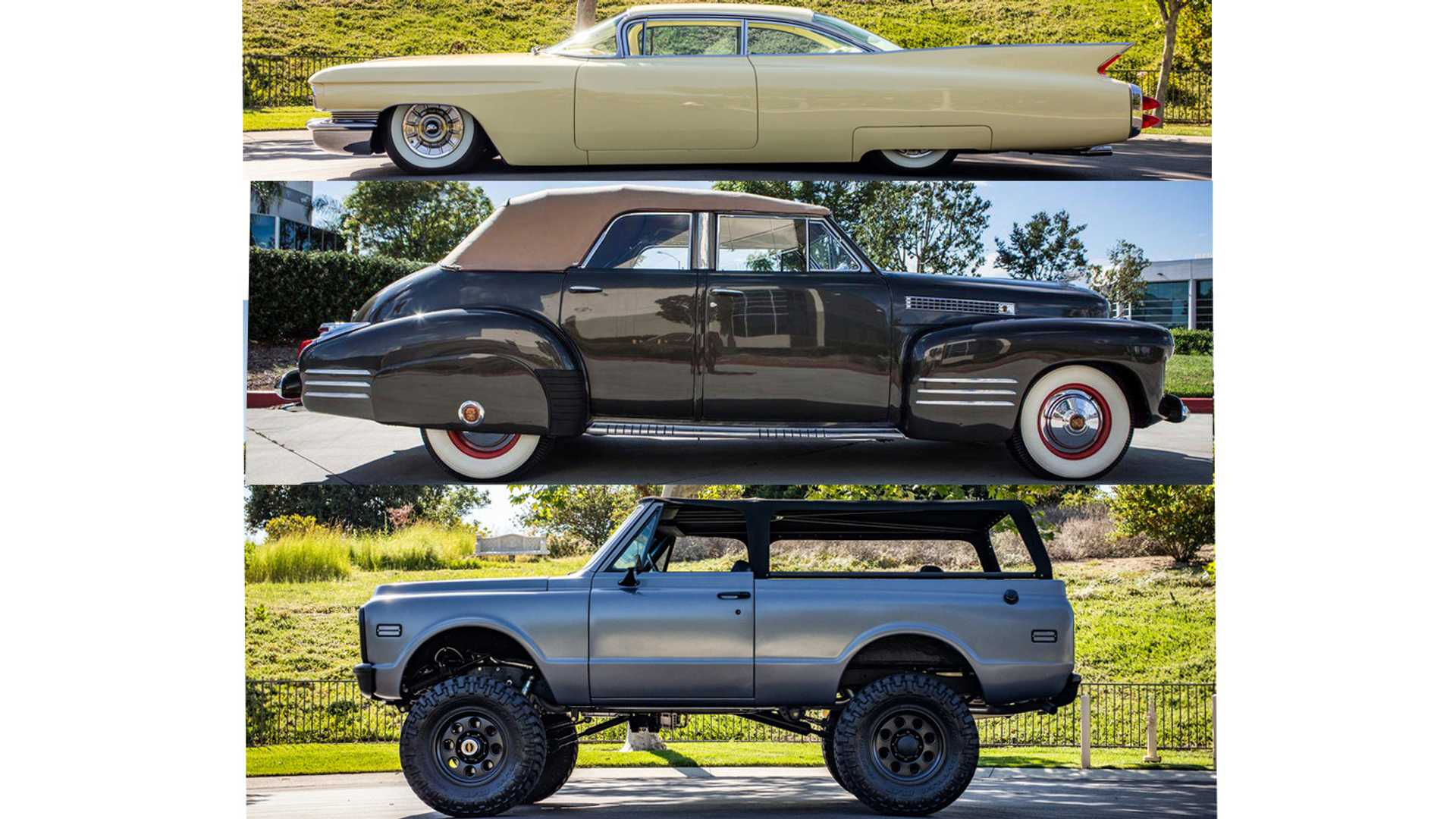 "[""Trio Of Travis Barker Custom Classic Cars Being Sold At Barrett-Jackson""]"