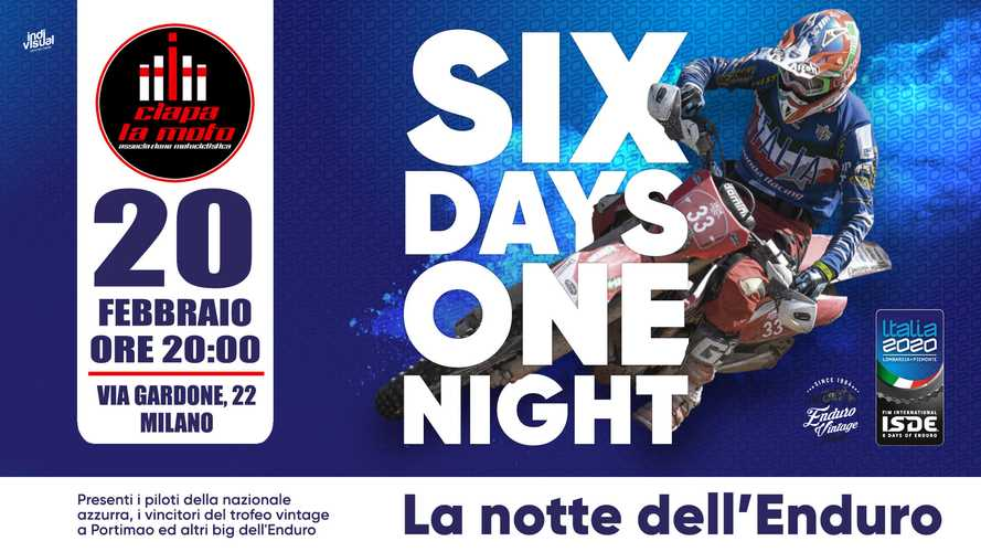 Six Days One Night, la notte dell'enduro di Ciapa La Moto
