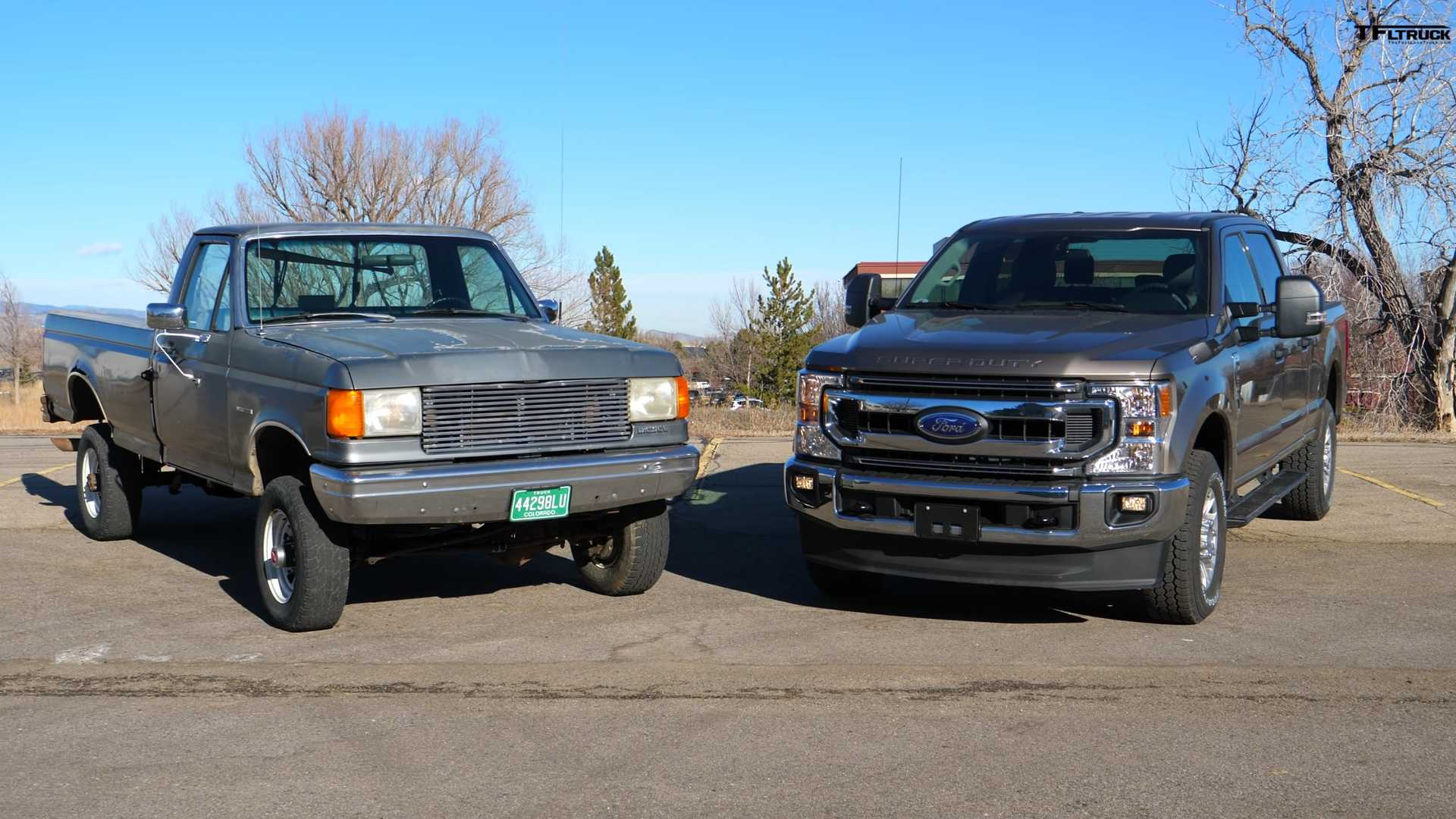 See How Different Ford 7.3-Liter-Powered Pickups Are From 1989 To Now