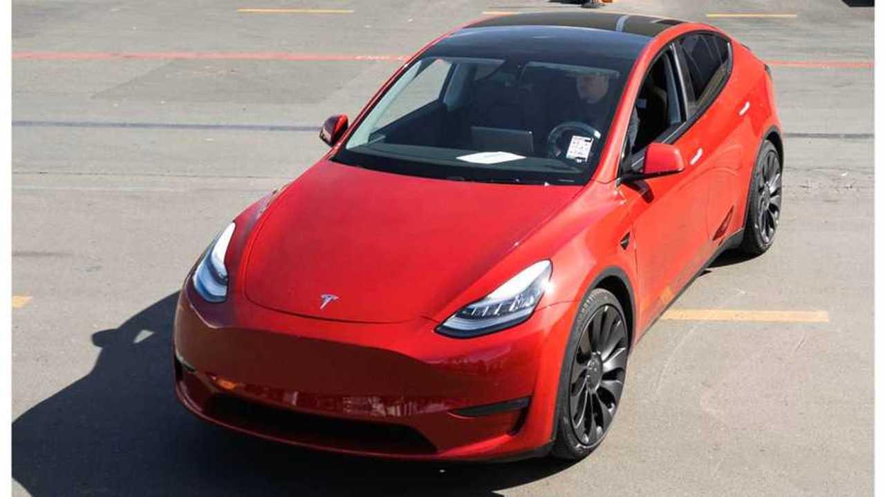 Tesla's 1,000,000th car: Tesla Model Y