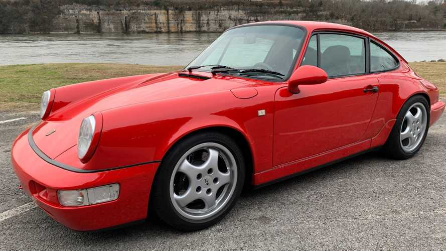 Drive This Extremely Rare 1992 Porsche 911 Carrera RS