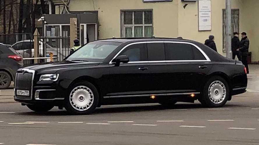 """У лимузина Aurus Senat появится """"бюджетная"""" версия"""