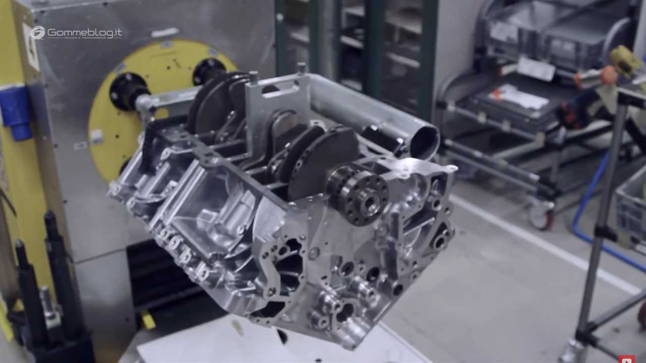 Bentley W12 Engine Assembly