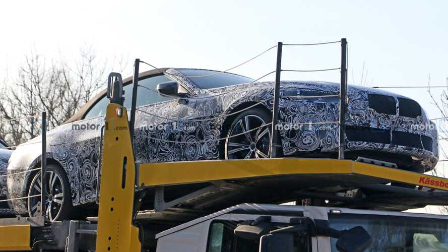BMW 4 Series Convertible Spied Looking Nearly Ready For Reveal