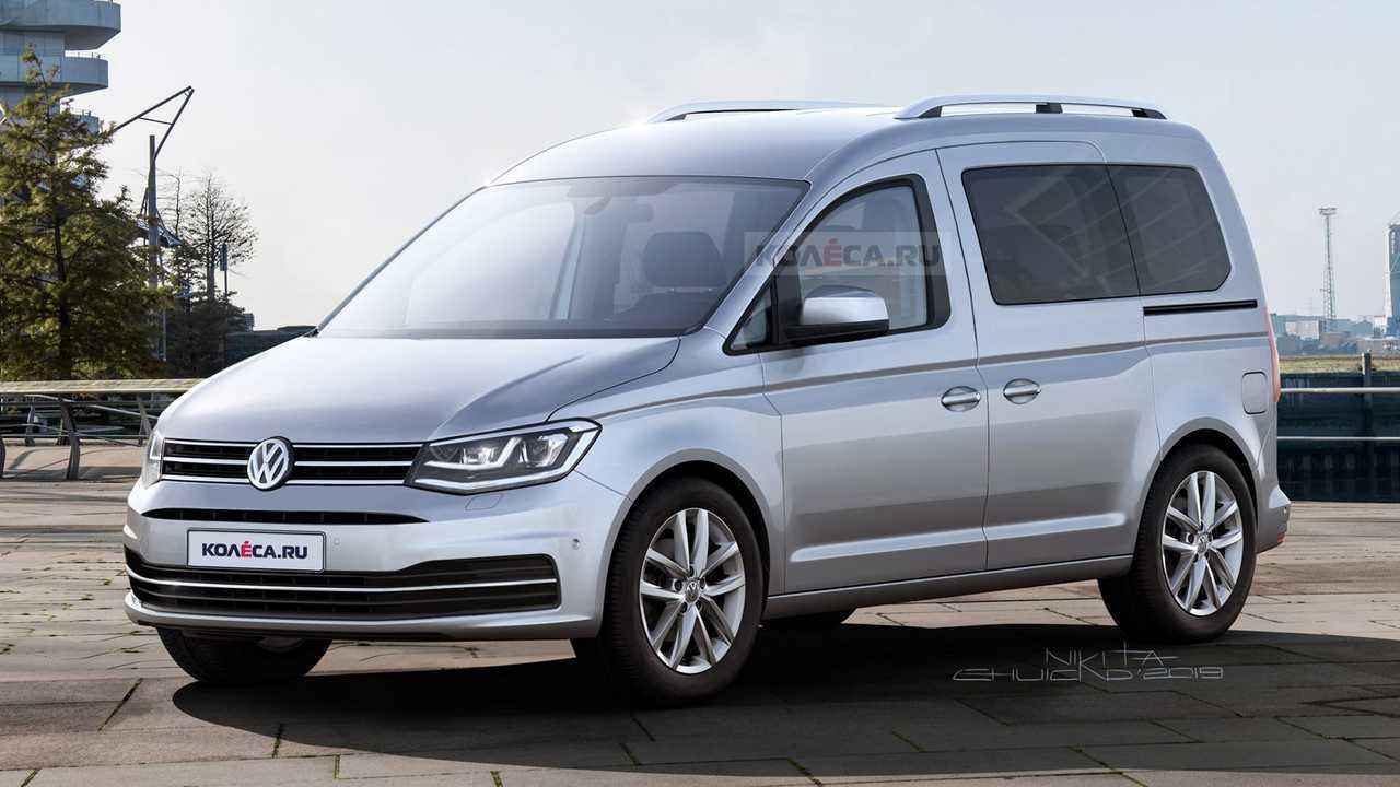 2020 VW Caddy rendering