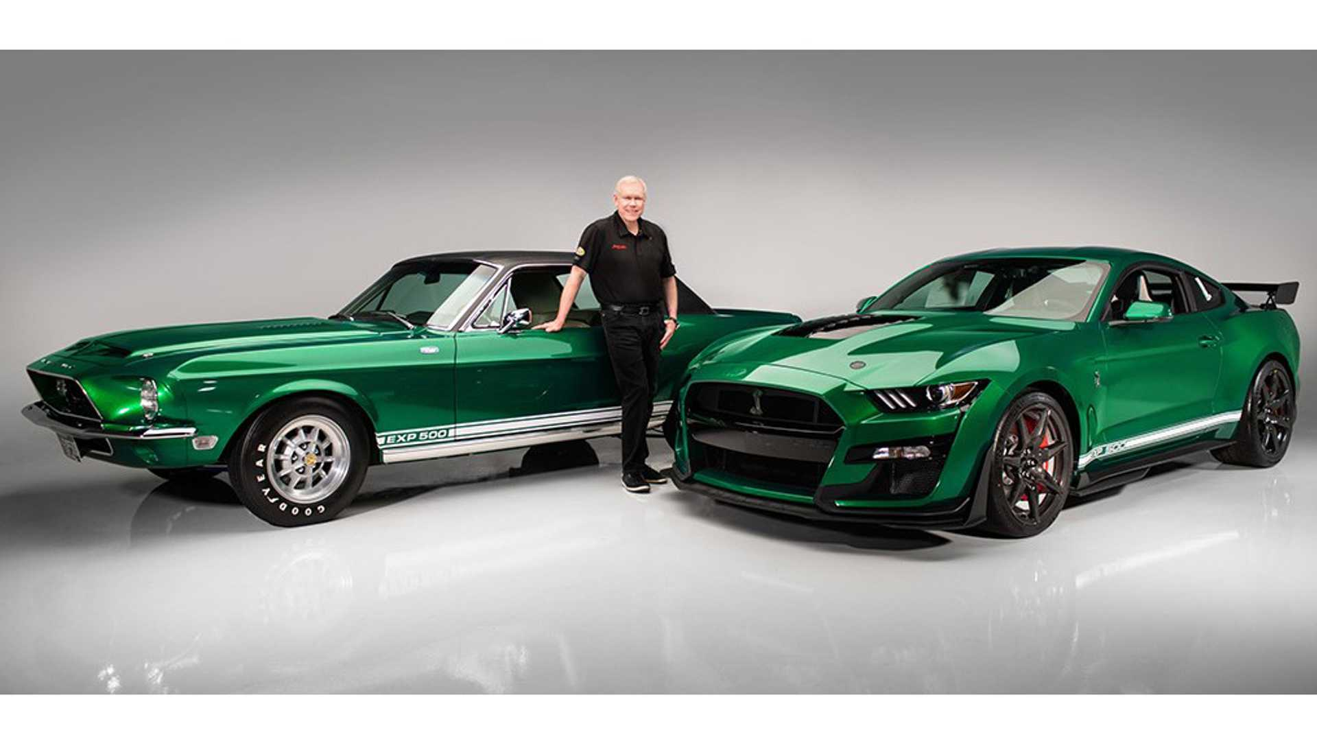 "[""Barrett-Jackson CEO Takes Delivery Of First 2020 Shelby GT500""]"
