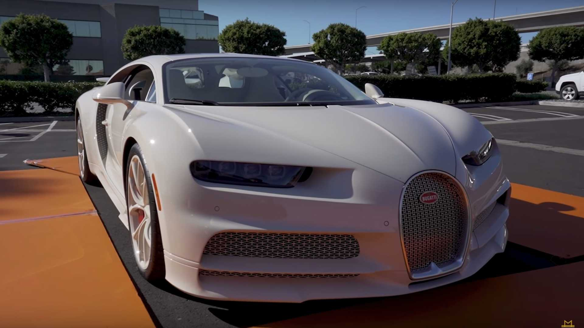 Bugatti Chiron Owner Shows Off His Unique Hermes Edition