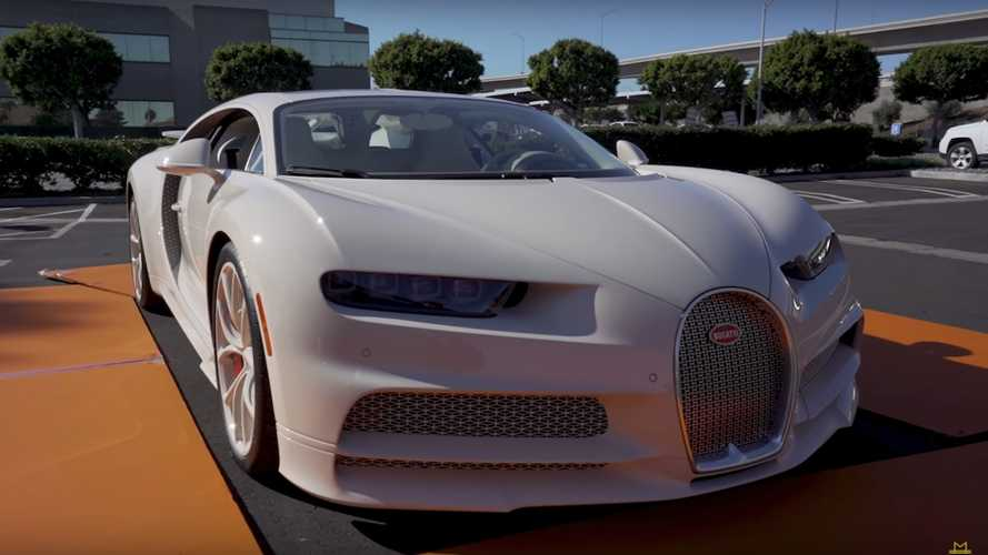 Bugatti Chiron Owner Shows Off His Unique Hermes Edition
