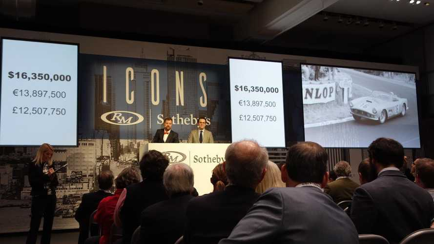 Market: $45.5m spent at RM Sotheby's Icons sale