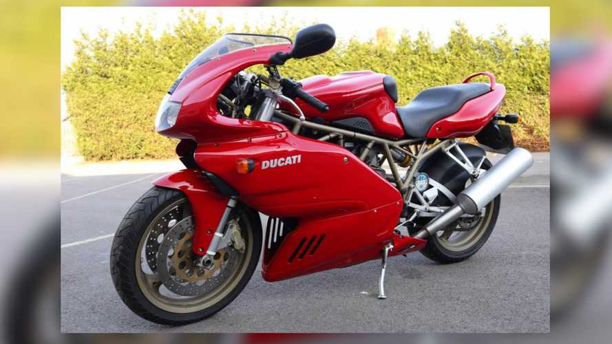 We Are Drooling Over This Mint 2000 Ducati 750 SS