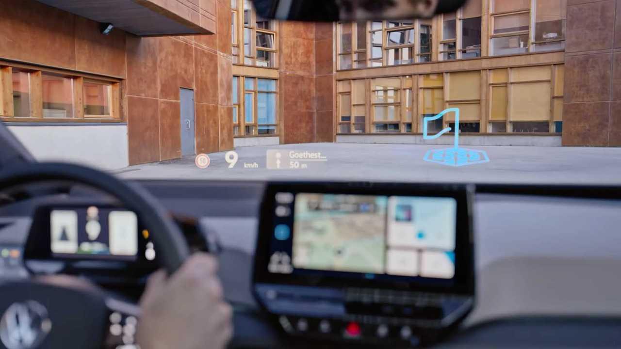 Volkswagen ID.3 head up display