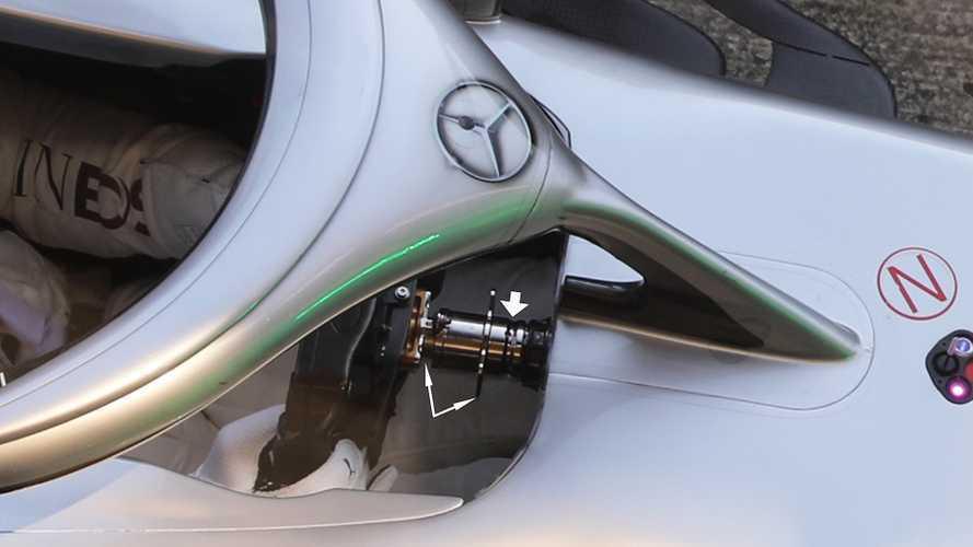 F1 Mercedes: ecco il volante mobile provato da Hamilton