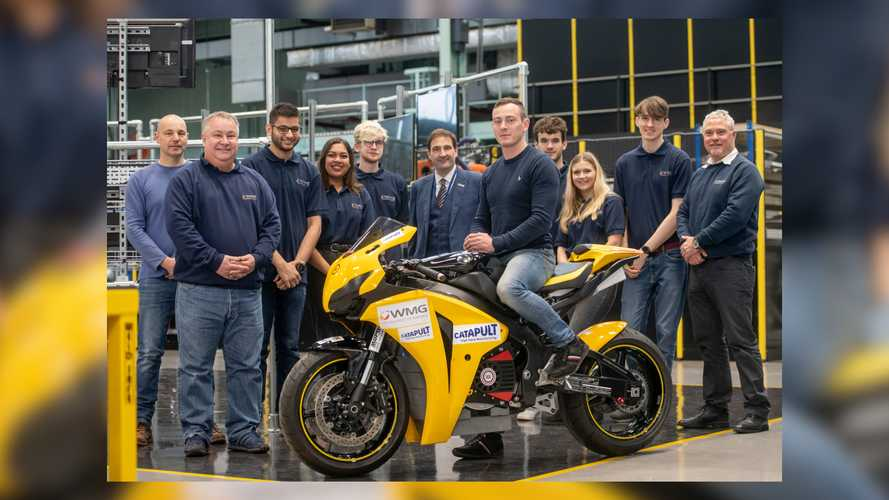 These Students Are Building A Fireblade-Based Electric Racebike