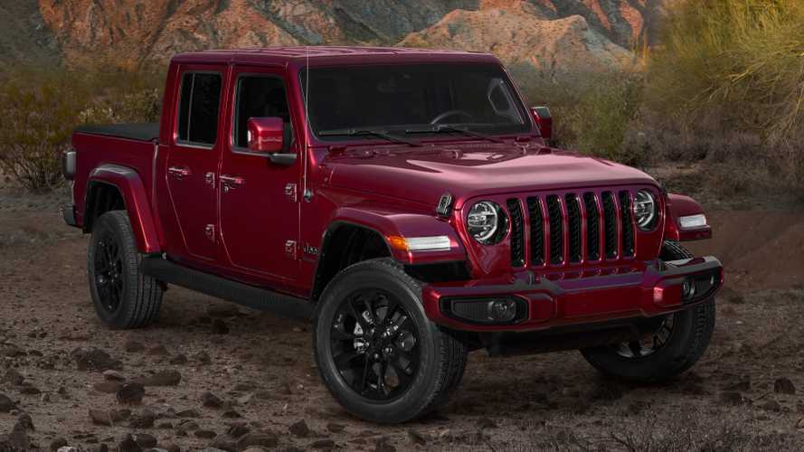 2020 Jeep Wrangler ve Gladiator High Altitude