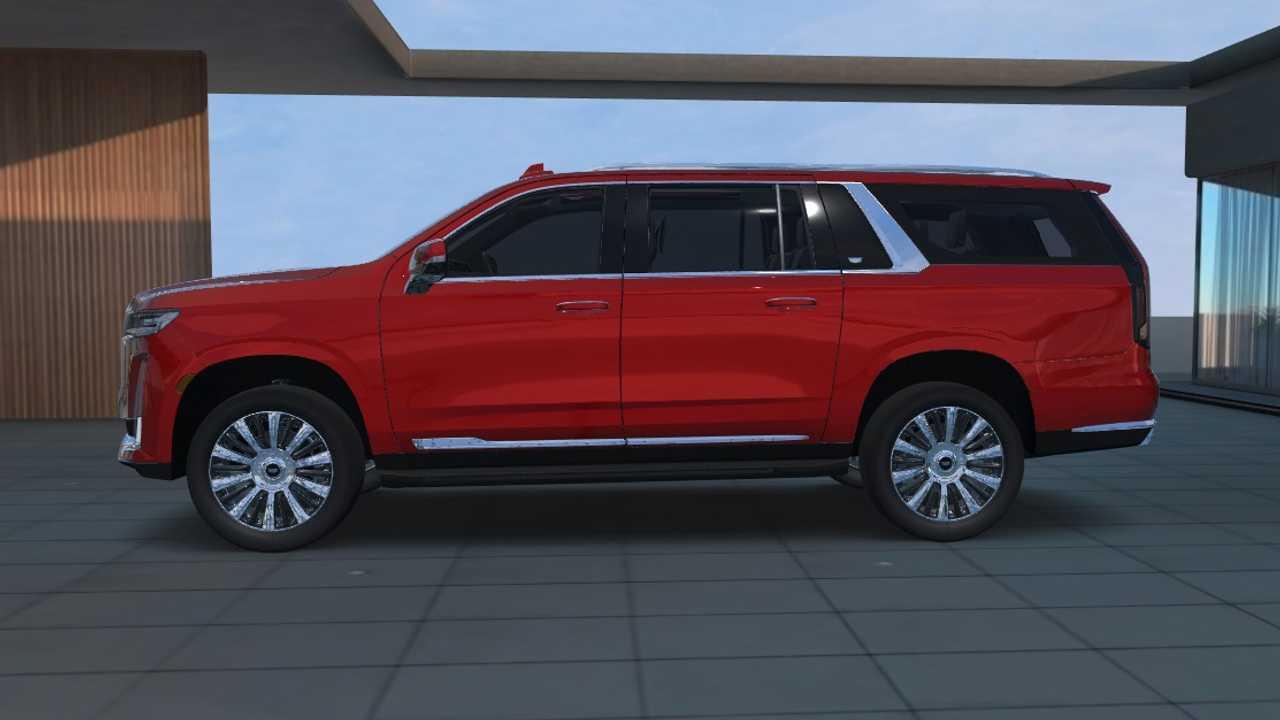 2021 Cadillac Escalade ESV as shown on visualizer - 4750635