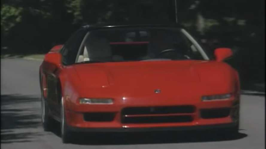 Watch A Retro 1991 Acura NSX Review