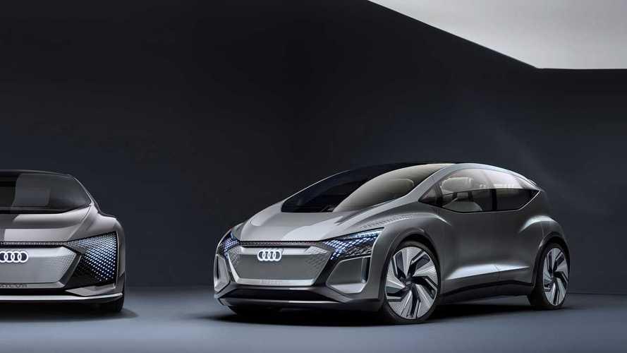 Akár a Volkswagen ID.3 ellenfele is lehetne az önvezető Audi AI:ME