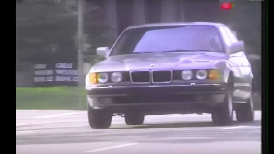 This 1989 BMW 7 Series Video Handbook Is Pure Gold