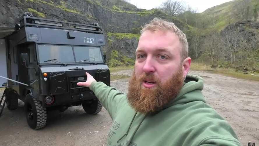 Land Rover 101 autocaravana