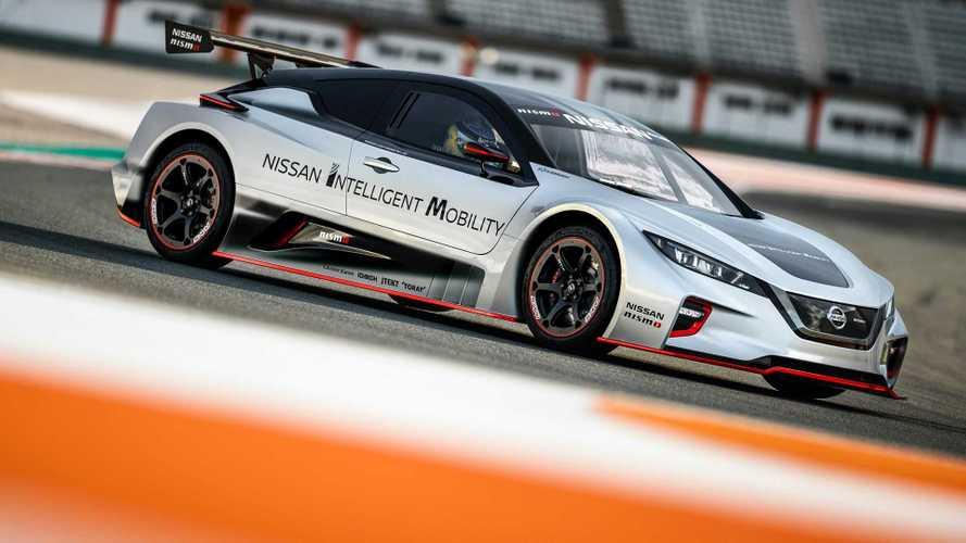 Nissan LEAF NISMO RC, la segunda generación del eléctrico de carreras