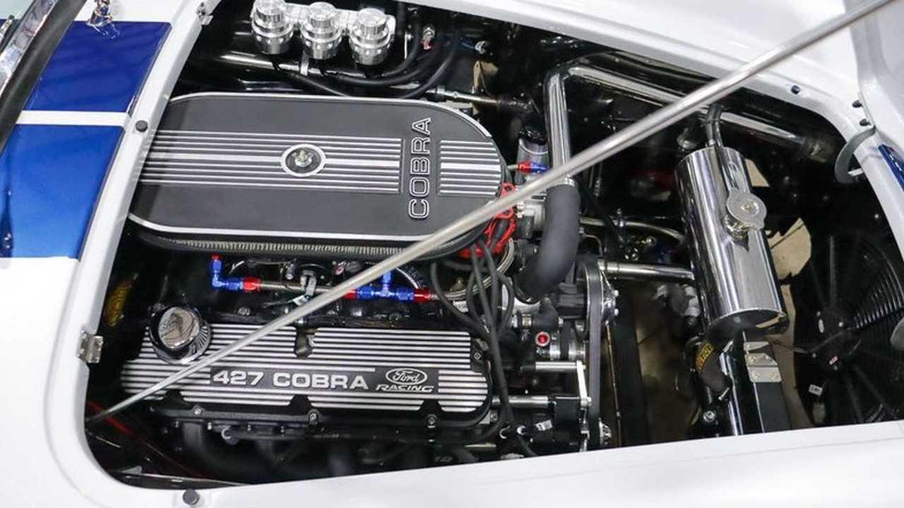 Fire Up This 1965 Shelby Cobra Replica