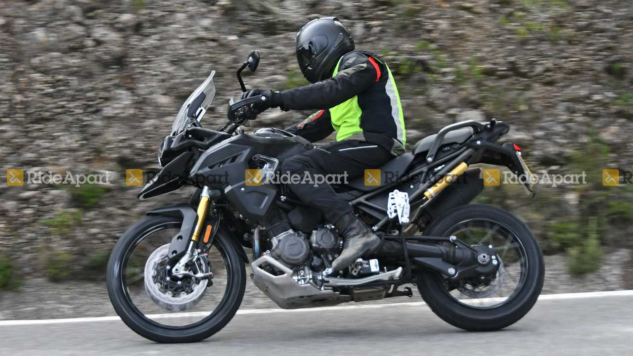 2021 Triumph Tiger 1200 Spy Shots