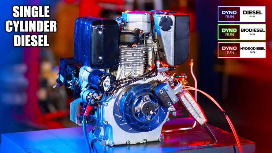 How Much Power Does A Single-Cylinder Diesel Engine Make?