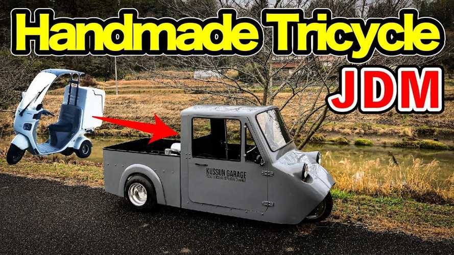 Watch A Honda Gyro Turn Into A Tiny Three-Wheeled Pickup
