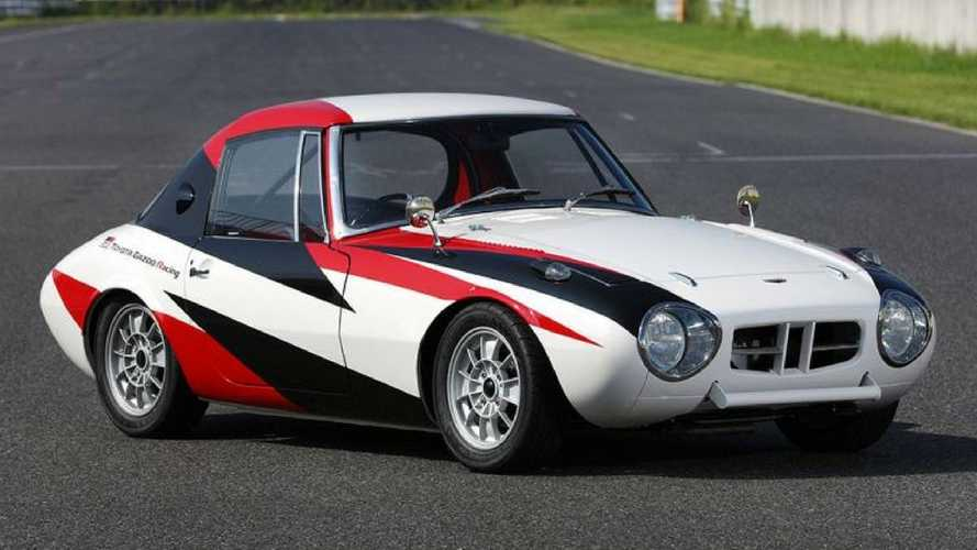 Toyota restore its oldest surviving race car – the Sports 800