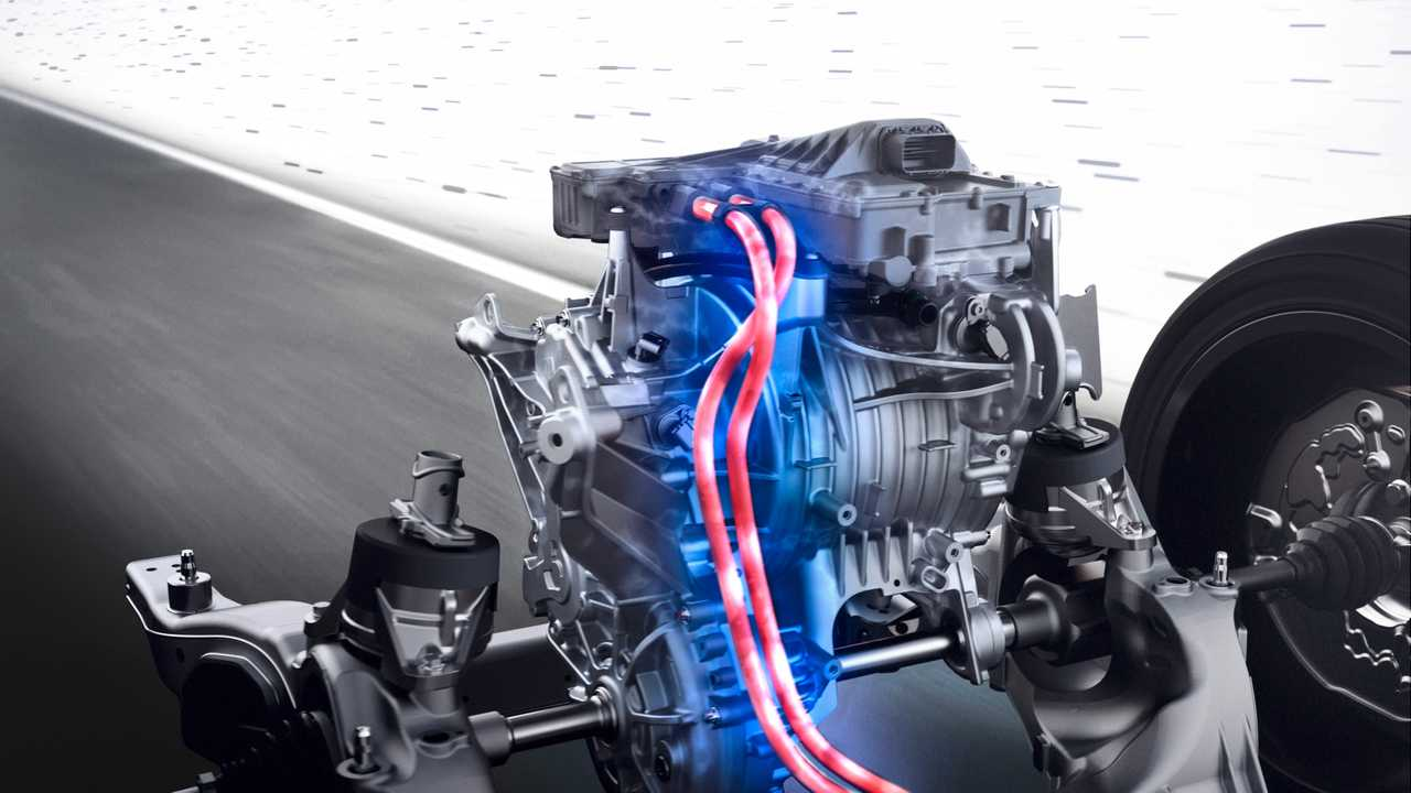 Mercedes-Benz: The eATS is the engine unit of electric vehicles. The eATS consists essentially of the three subsystems: an electric motor, its power electronics and the transmission part for power-transmission.