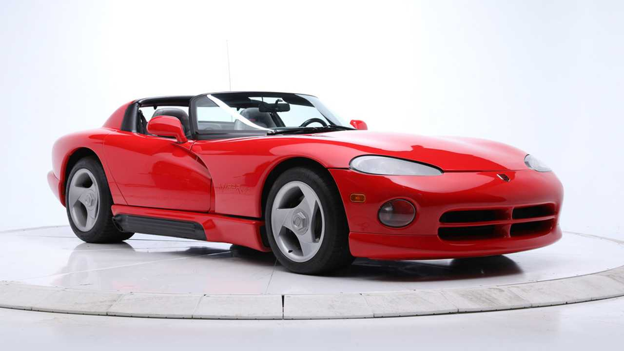 1992 Dodge Viper Roadster Owned By John Elway