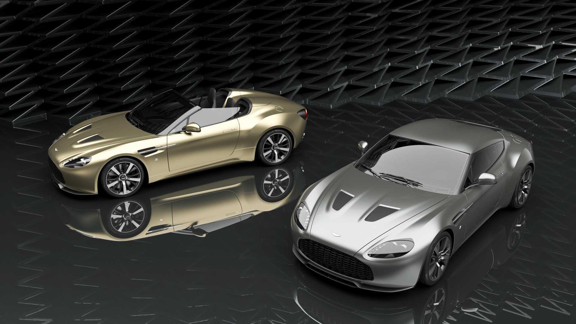 Aston Martin Vantage V12 Zagato Heritage Twins Are Hand Built Beauties