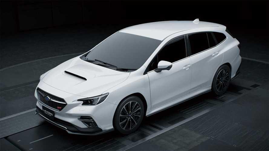 """Вот так может выглядеть """"заряженный"""" универсал Subaru"""