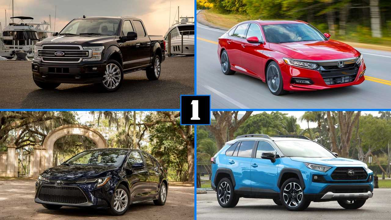 20 Best Selling Vehicles Of 2019 Lead