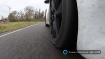 Porsche 911 winter tyre track performance
