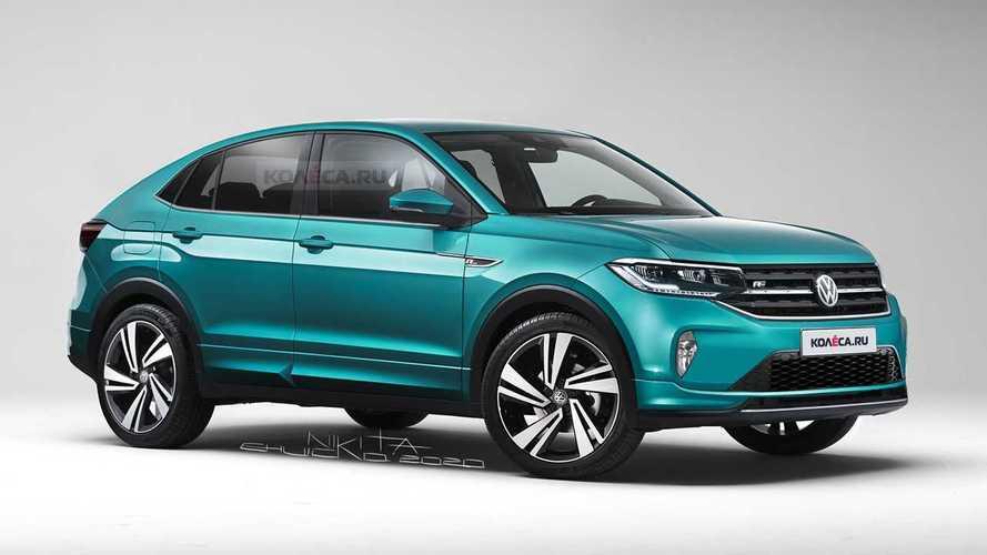 Novo VW Nivus aparece em projeção e será lançado no segundo trimestre