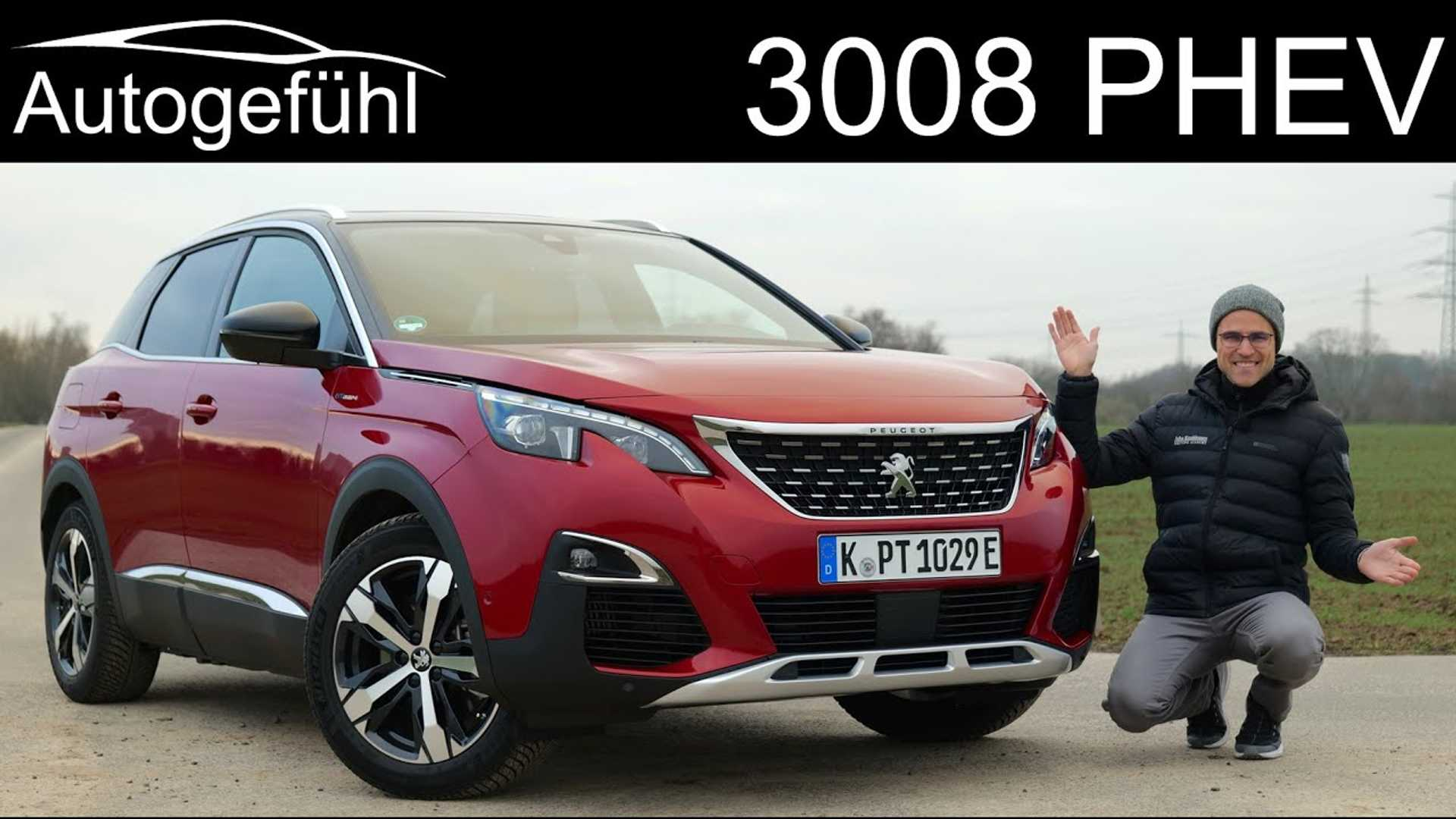 Peugeot 3008 Gt Hybrid4 Tested By Autogefuhl Video