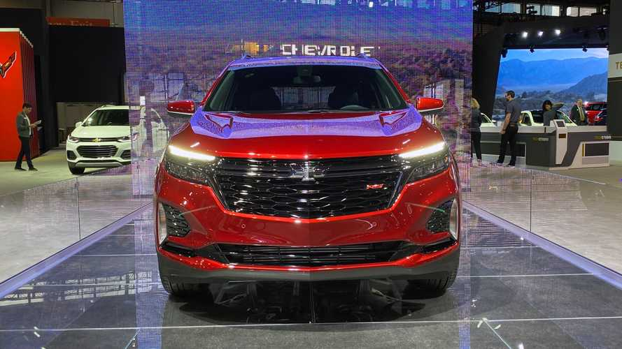 2022 Chevy Equinox RS Pricing To Start At $31,295