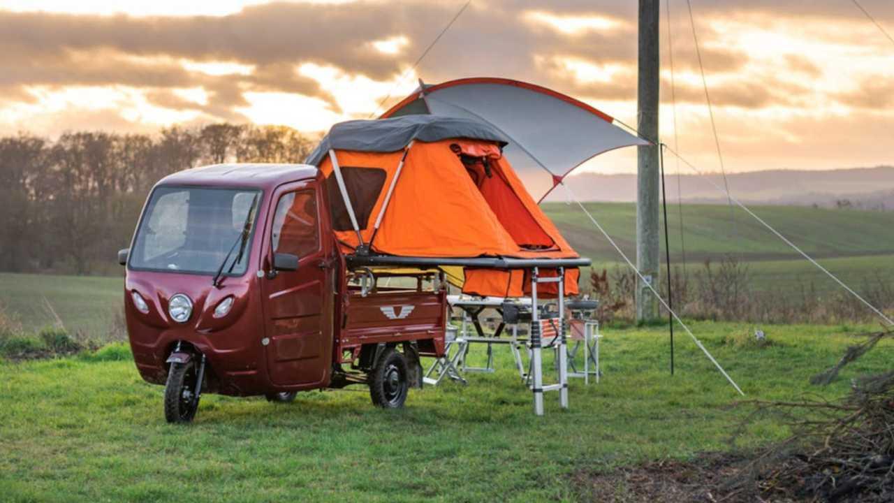 Motocarro Elektro Frosch Camper