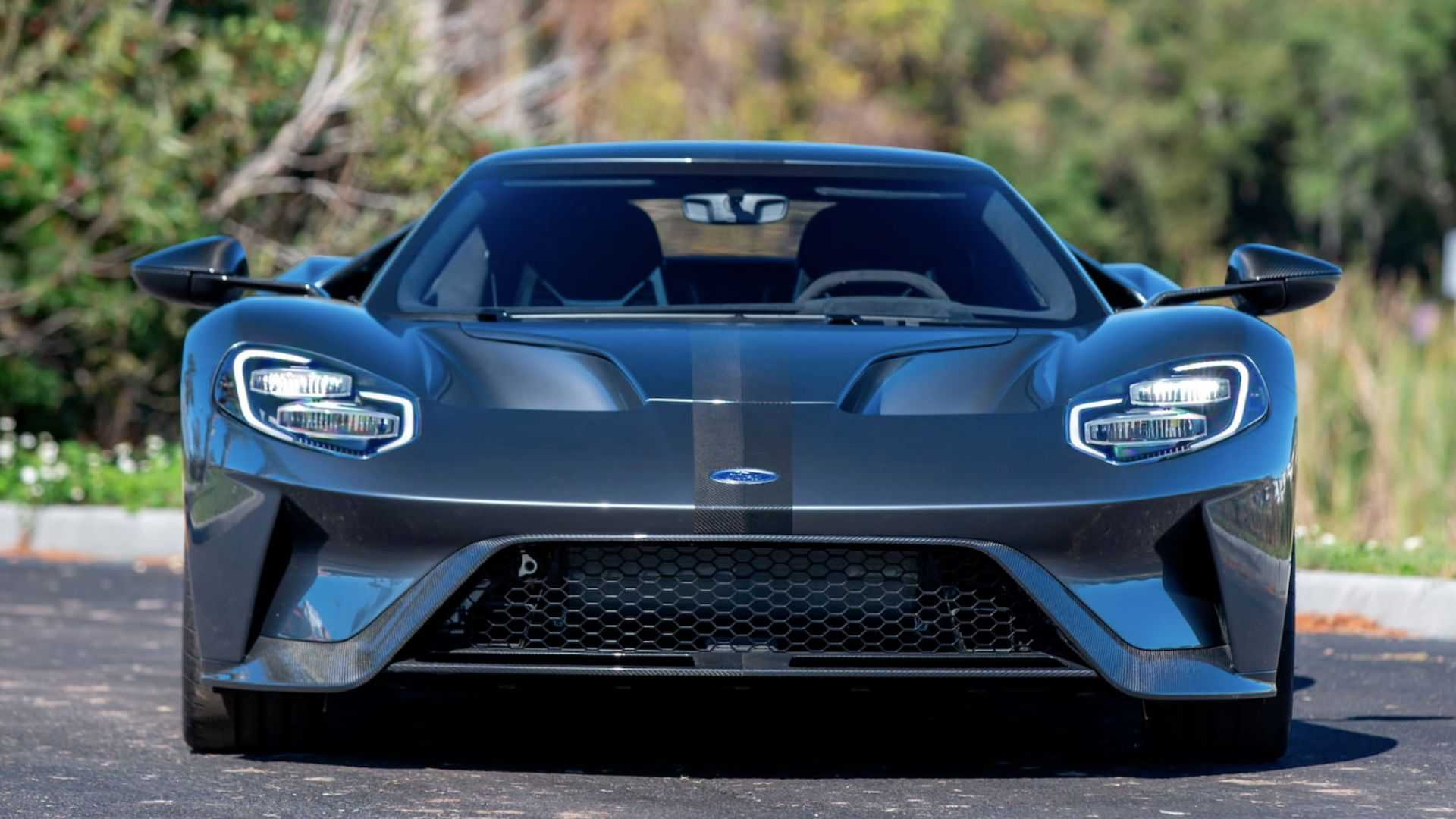 """[""""2017 Ford GT Competition Series Gets In Touch With Racing Roots""""]"""