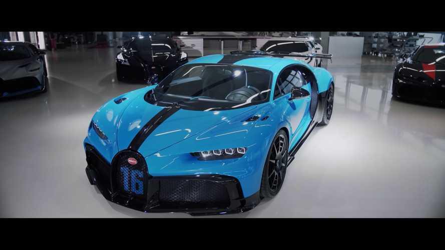 Bugatti nos regala los sentidos con un vídeo sobre el Chiron Pur Sport